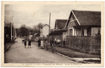 Carte postale de l'Avenue du Grand Cerf