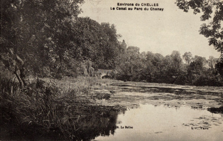 Carte Postale : Canal du Chesnay