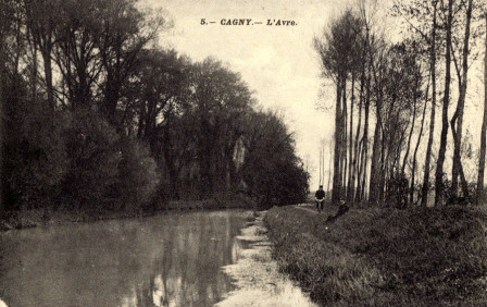 Carte Postale : Canal du Chesnay (Avre)