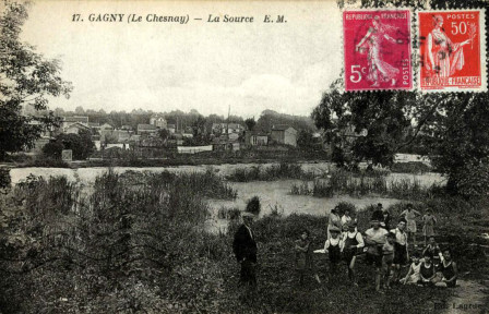 GAGNY - Le Chesnay - La Source.