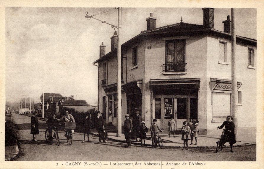 Les cartes postales anciennes - Les Abbesses de Gagny - Chelles