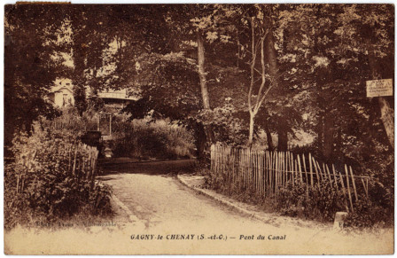 cpa du canal du chesnay