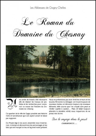 Le roman du Chesnay Preview