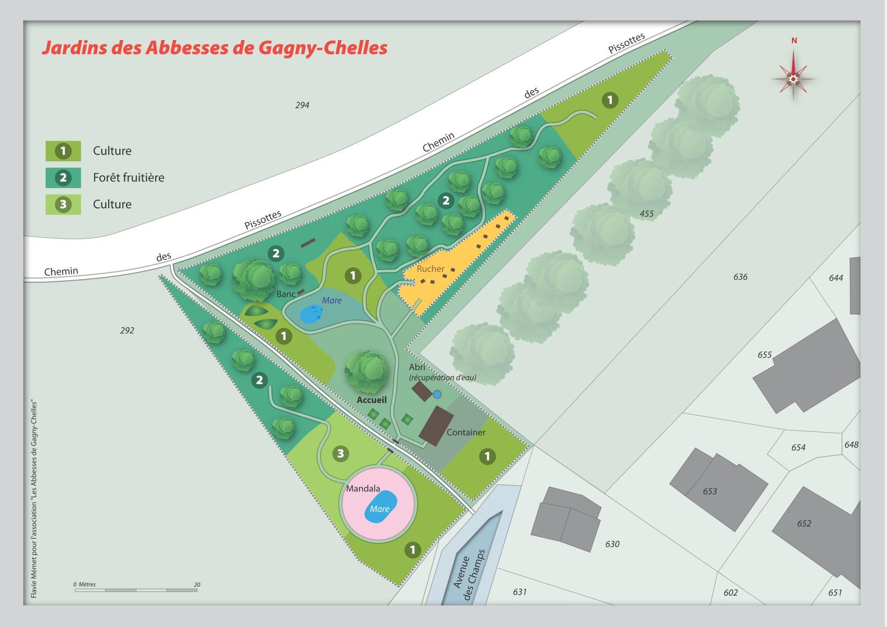 Jardin des abbesses dimanche 30 mars journ e d for Plan jardin