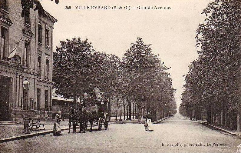 Villes et villages en cartes postales anciennes .. - Page 13 Cpa_ve_avenue